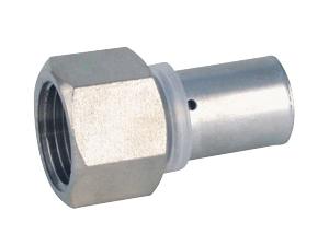 Муфта пресс. внутренняя резьба для многослойных металлопластиковых труб