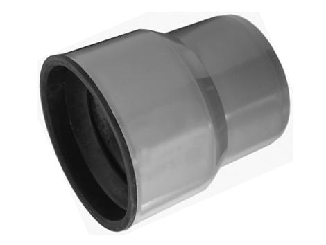 Канализация переходник с чугуна на пластик (тапер) полипропиленовый для перехода с чугунной трубы на пластиковую.