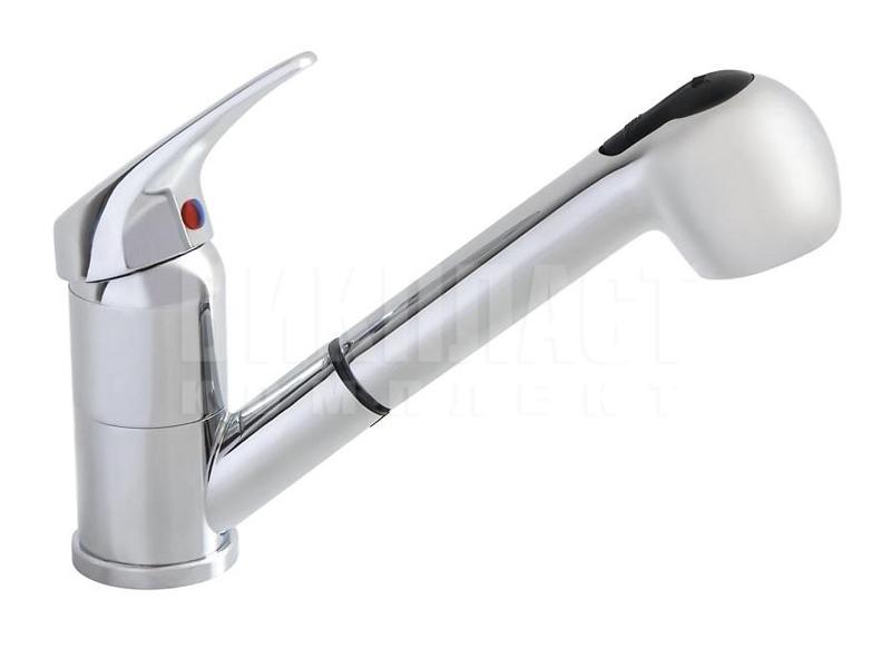 Смеситель для мойки кухонный со шлангом выдвижным изливом TA-4004, TA.4004 Slovarm