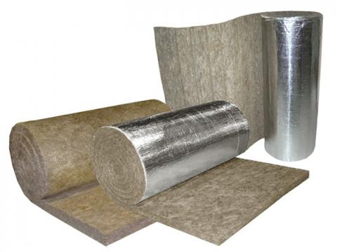 Маты минераловатные кашированные с фольгой из минеральной ваты ламельные