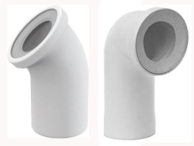 Колено WC для подключения унитаза к канализации.