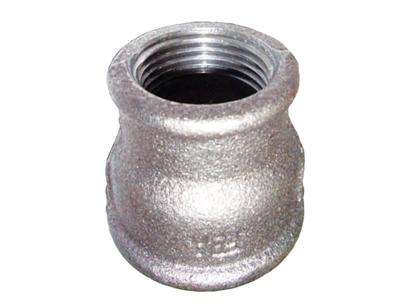 Муфта чугунная переходная оцинкованная для соединения двух трубопроводов различного диаметра в одну систему