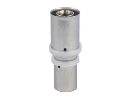 Муфта переходная пресс для многослойных металлопластиковых труб