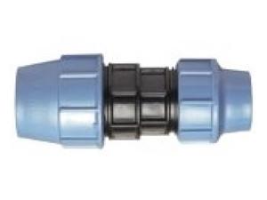 Муфта полиэтиленовая ПЭ переходная компрессионная из полиэтилена для наружного водопровода для перехода на другой диаметр труб