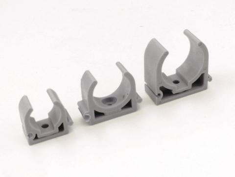 Хомуты U образные скобы опоры клипсы крепления для полипропиленовых труб к стенам.