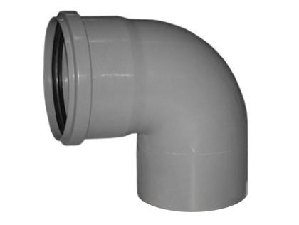 Канализационное колено 90 градусов (87°) полипропиленовое