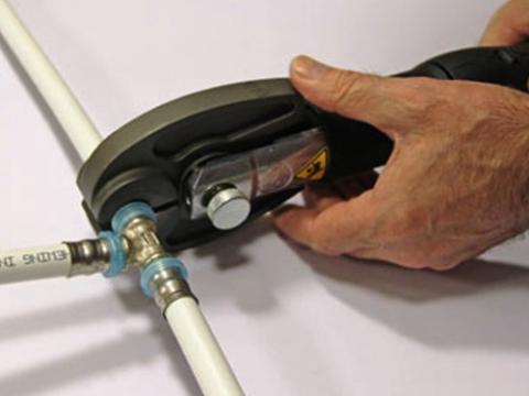 Последовательность монтажа SLOVARM металлопластиковых труб и фитингов
