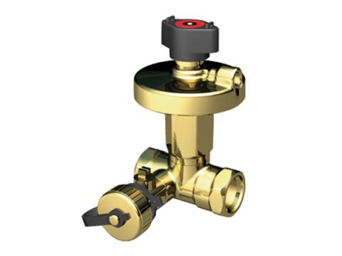 Регулятор перепада давления Broen Ballorex DP для поддержания заданного перепада давления на потребителе в системах отопления и охлаждения совместно с клапаном-партнером.