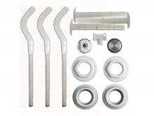 Комплект крепления подключения алюминиевых и биметаллических радиаторов системы отопления.