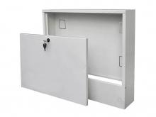 Шкаф для коллектора теплого пола, ящик наружный настенный, купить в Минске