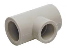 Тройник полипропиленовый ПП для воды водоснабжения отопления фитинг из полипропилена