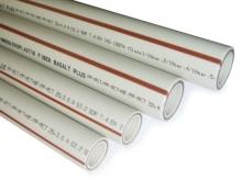 Труба полипропиленовая FIBER BASALT PLUS труба S3,2 для внутреннего водопровода, горячей воды и отопления
