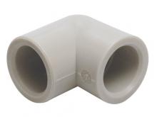 Угольник отвод 90° градусов под пайку из полипропилена для воды водоснабжения отопления фитинг из полипропилена