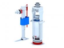 Сливной механизм бачка унитаза арматура кран клапан с боковой подводкой и подключением