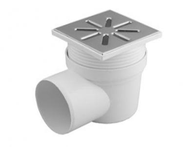 Трап горизонтальный регулируемый полипропиленовый канализационный для приема и отвода вод в канализацию внутри помещений.