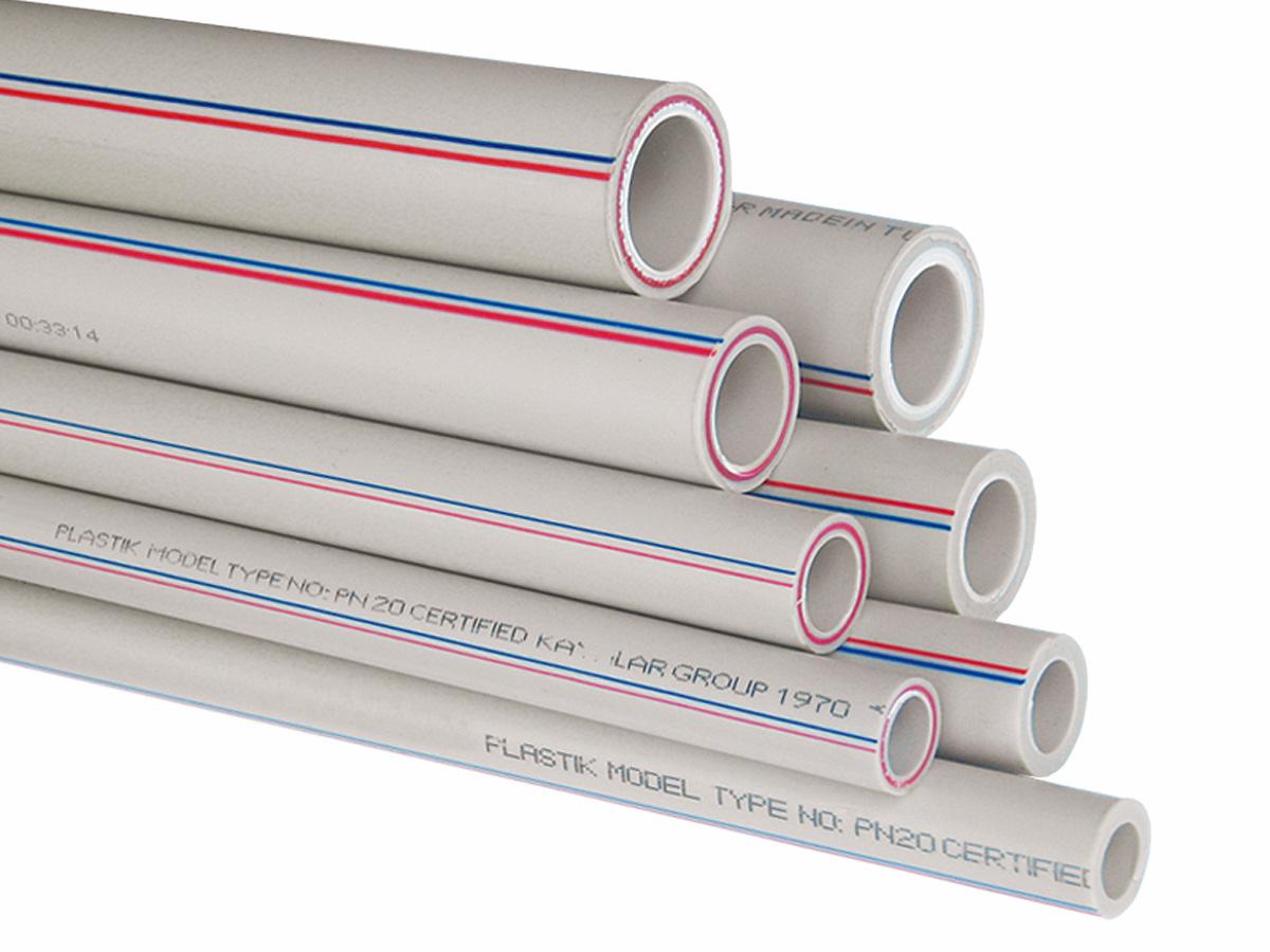 купить полипропиленовые трубы для холодной воды PN20 Турция KAS для водоснабжения и отопления