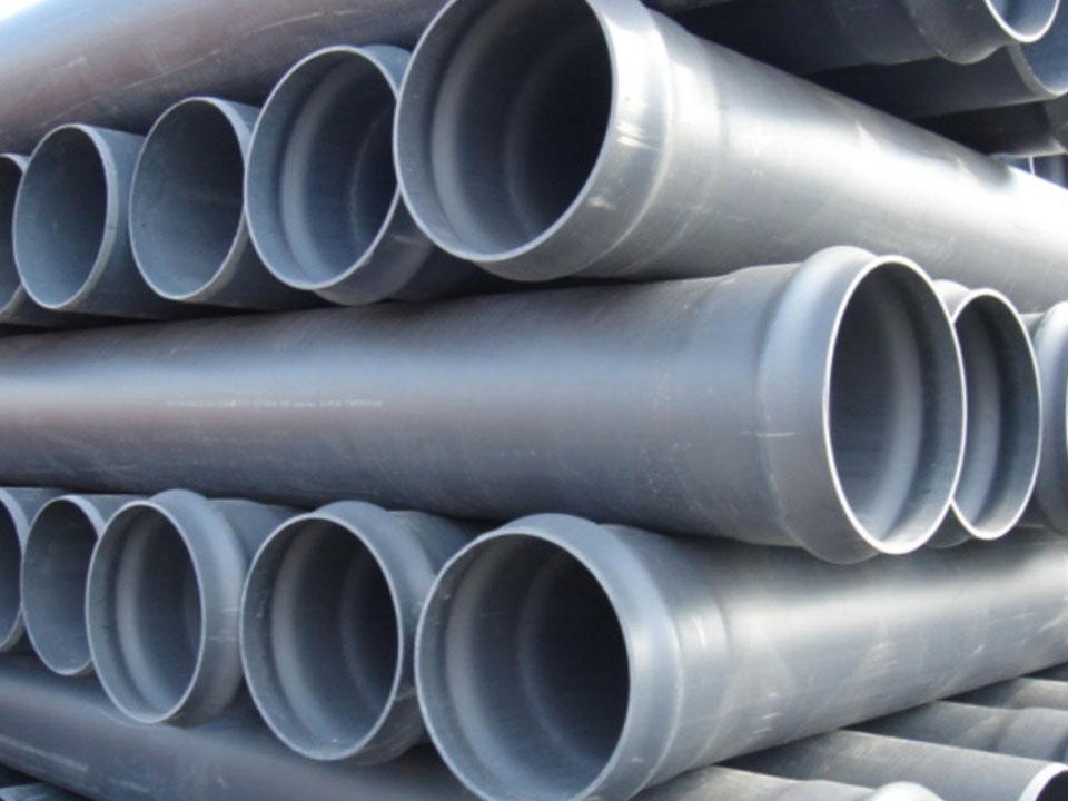 труба ПВХ напорная жесткая для воды серая под давлением 110 мм Минск купить