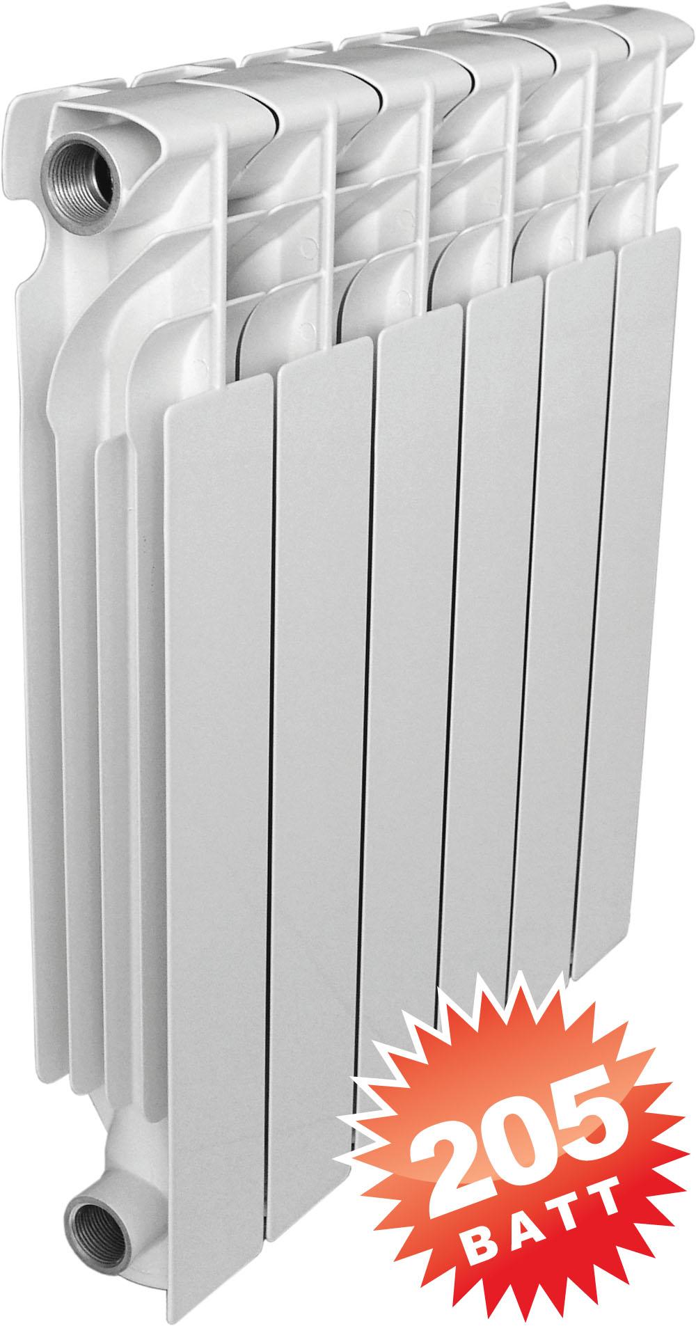 Mirado 500 (Мирадо) алюминиевый радиатор отопления