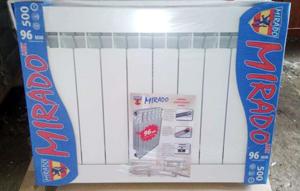 Mirado 500 (Мирадо) алюминиевый радиатор отопления в упаковке