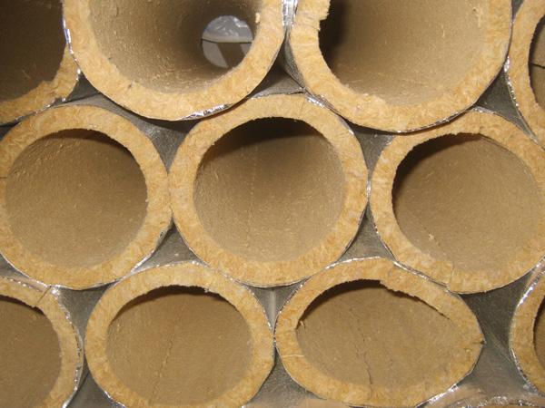 Цилиндры теплоизоляционные кашированные
