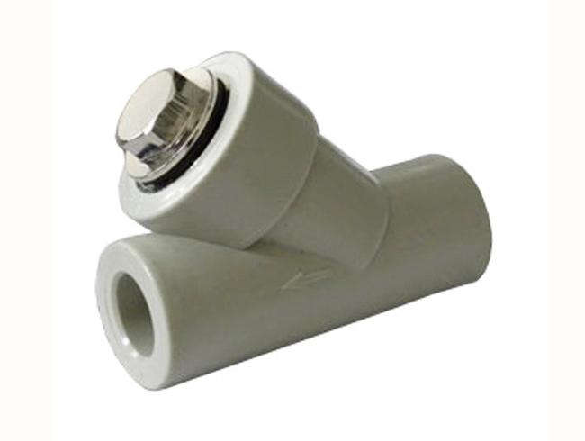 Фильтр грязевик полипропиленовый осадочный сетчатый ПП для воды водоснабжения отопления фитинг из полипропилена