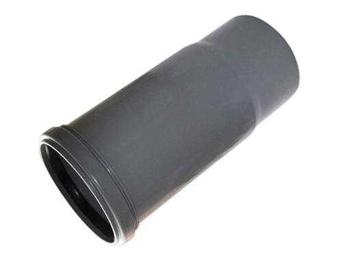 Компенсационный патрубок полипропиленовый ПП канализационный для компенсации длины канализационной трубы.