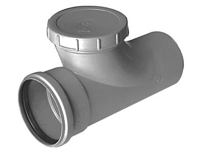 Ревизия канализационная 110 полипропиленовая для стояка