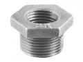 Футорка чугунная оцинкованная внутренняя наружная резьба резьбовая для соединения труб и фитингов различного диаметра