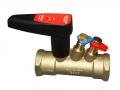 Балансировочный клапан для системы отопления Ballorex Venturi FODRV применяется в качестве ограничителя расхода и запорного устройства в системах отопления, охлаждения, тепло- и холодоснабжения.