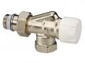 Клапан термостатический осевой с предварительной настройкой