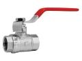 Кран шаровый внутренняя/внутренняя резьба ручка-рычаг FERRO для установки на трубопроводах как запорное устройство.