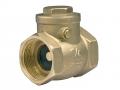 Обратный клапан подъемный муфтовый латунный FERRO ZZK предотвращение обратного тока воды.
