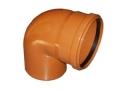Отвод ПВХ 87° (90°) градусов канализационный, для наружной канализации