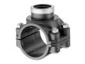 Седелка GW полиэтиленовая ПЭ PN10 для наружного водопровода для врезки трубы в трубу действующего трубопровода.