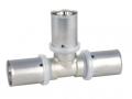 Тройник пресс. для многослойных металлопластиковых труб