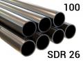 Труба полиэтиленовая ПЭ 100, PN6, SDR26 напорная для наружного напорного водопровода из холодной воды под напором.