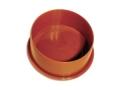 Заглушка для труб ПВХ канализационная, для наружной канализации