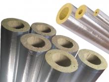Цилиндры теплоизоляционные кашированные парок