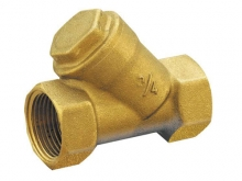 Фильтр грубой очистки осадочный муфтовый косой для защиты от загрязнений установок, сбора частиц грязи