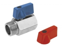 Кран шаровый mini мини для установки на трубопроводах как запорное устройство.