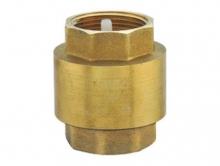 Обратный клапан муфтовый латунный FERRO