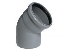 Отвод канализационный 110 мм угол 30 градусов полипропиленовый 30°