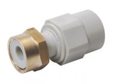 Переход с перекидной гайкой полипропиленовый для воды водоснабжения отопления фитинг из полипропилена