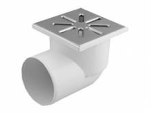 Трап горизонтальный полипропиленовый канализационный для приема и отвода вод в канализацию внутри помещений.