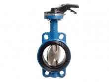 Затвор межфланцевый поворотный дисковый чугунный  PN16 для установки на трубопроводе как запорное устройство.