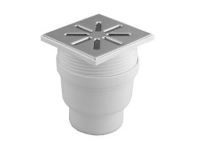 Трап вертикальный регулируемый полипропиленовый канализационный купить в Минске для приема и отвода вод в канализацию внутри помещений.